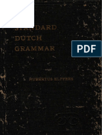 Standard Dutch Grammar
