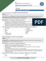 Programme Lpi 102