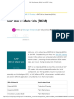 1.2.SAP Bill of Materials (BOM) - Free SAP PP Training