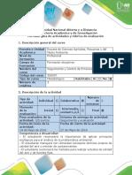 Guía de Actividades y Rúbrica de Evaluación - Tarea 6 - Presentar La Propuesta de Seguimiento y Control de Emisiones Atmosf
