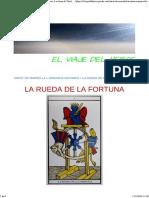 LA RUEDA de LA FORTUNA - El Viaje Del Heroe, Lecturas de Tarot, Flores de Bach, Meditación, Masaje Ayurvédico