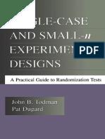 John B. Todman, Pat Dugard - Single-case and Small-n Experimental Designs_ A Practical Guide To Randomization Tests (2001).pdf