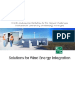 Solutions for Wind Energy Integration