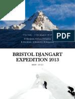 Bristol Djangart Expedition 2013