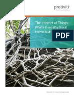 Internal Audit and the Internet of Things Whitepaper Protiviti