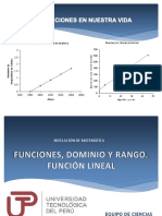 Sesión 1 - Función Lineal