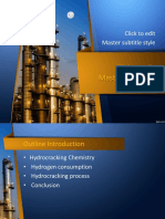 catalytic hydrocracking