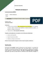Lengua 1 2018.1 Avance 0 (Formato y Ruìbrica)
