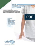 Resumen Estudios Clinicos Criolipolisis