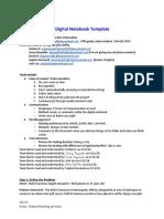 digital notebook team 1