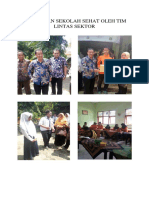 Pembinaan Sekolah Sehat Oleh Tim Lintas Sektor