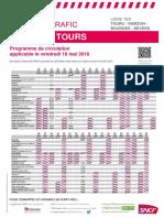 Tours - Vierzon - Bourges - Nevers du 18 mai