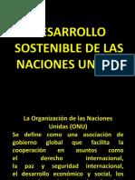Desarrollo Sostenible de Las Naciones Uniones, 200721173 William Ordoñez
