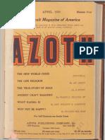 Azoth, April 1919