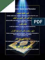 Quran and Ramadan