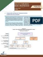 Informe Tecnico Empleo a Nivel Nacional