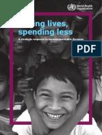 Saving lives, spending less