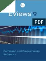 EViews 9 Command Ref