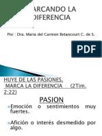 Marcando La Diferencia (Conferencia)