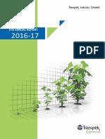 Annual Report 2016 17(Transpek)