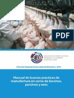 Manual de Buenas Prácticas de Manufactura en Carne de Bovinos, Porcinos y Aves