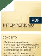 Geologia Intemperismo
