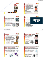 Overview of Metals Manufacturing Processes