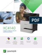 Lexmark Xc4140 PDF