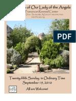 The Casa Bulletin - September 19, 2010