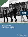 MBA Full Time Brochure