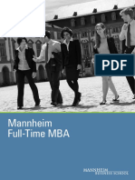 MBA Full Time Brochure