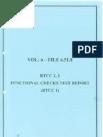6.51.8-RTCC-1 Functional Checks Report
