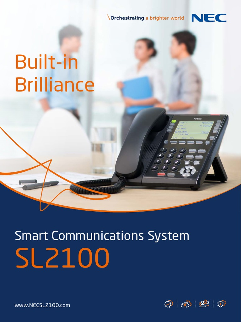 Nec Ns Sl2100 8page-Apac | Conference Call | Mobile App