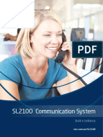 NECA SL2100 Communication System Brochure