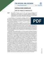 Real Decreto 715-2011 - Establece 10 Certificados de La Familia IMA
