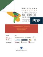 Anais Do Seminario Reforma Da Justica No Brasil 2016