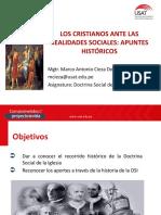 Los Cristianos Ante Las Realidades Sociales Apuntes Históricos (1)