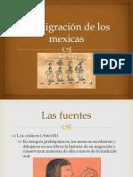 La Migración de Los Mexicas