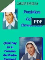 Pequeña Biografia de Madre Carmen