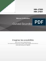 Manual Barra de Sonido