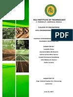Highway Final Report
