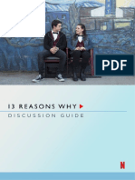 '13 Reasons Why' Discussion Guide