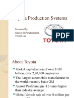 Toyota Production Systems Final