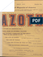 Zzoth, July 1919