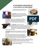 Instrumentos Municipales Tradicionales de Guatemala y Sus Raíces en La Cultura Maya