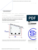 Durability of Structures and How to Calculate Concrete Cover (Eurocode 2) - Structville