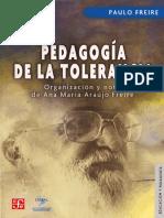 Pedagogía de la tolerancia - P. Freire.pdf