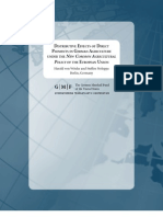 Distributive Effects of the EU's New Common Agricultural Policy in German Agriculture