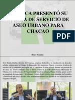 Henry Camino - FOSPUCA Presentó Su Oferta de Servicio de Aseo Urbano Para Chacao