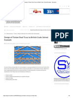 Design of Timber Roof Truss to British Code_ Solved Example - Structville